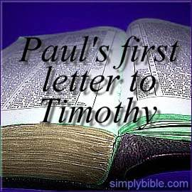 Study of First Timothy