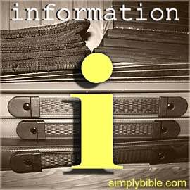 Information Pages simplybible.com