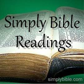 simply bible readings index