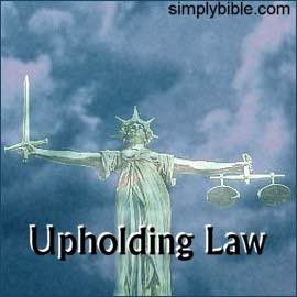Upholding Law